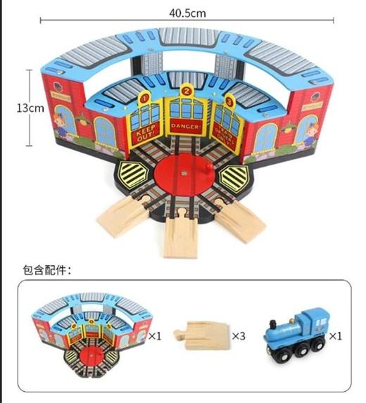 Депо EDWONE для трех поездов + паровоз
